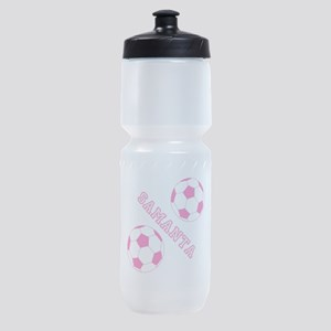 Soccer Girl Personalized Sports Bottle